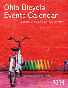 Image: Cover of the 2014 edition, Ohio Bicycle Events Calendar