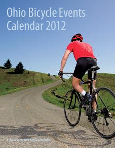 2012 Ohio Bicycle Events Calendar